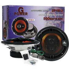 GOLF 4  500 watt 3 WEGE LAUTSPRECHER carhifi autohifi speaker 165 mm din