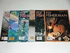 Fly Fisherman Magazine 1982 (Six Issues)