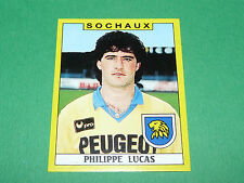 N°300 P. LUCAS FC SOCHAUX MONTBELIARD FCSM PANINI FOOTBALL FOOT 89 1988-1989
