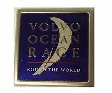 NUOVO Originale Volvo Ocean Race BADGE EMBLEMA COLLECTOR'S ITEM