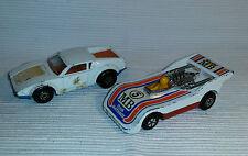 2x alte Spielzeugautos/Vintage toy cars MATCHBOX: De Tomaso Pantera/Hi-Tailer