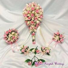 Silk Rose Wedding Corsages