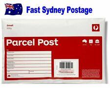 NEW Prepaid Small 500g (now 5Kg) Satchel Red Australia Post Office Parcel Bag