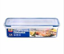 1.1 Litre Clip and Lock Long Bacon Fish Plastic Food Container Storage Box