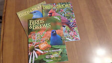 BIRDS    and    BLOOMS   Magazines (3)