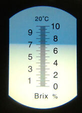0-10:0,1 Brix KSS CNC Gar Dreher - Drehbank Refractometer - Refraktometer