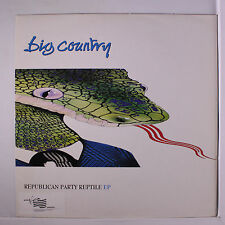 BIG COUNTRY: Republican Party Ep 12 (UK, PC, sm Virgin library toc) Rock & Pop