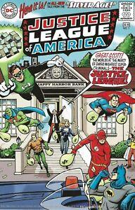 "DC COMICS TALE FROM THE ""SILVER AGE"" RETAILER PROMO COVERS 2000 JLA BATMAN FLASH"