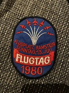 Rammstein Flugtag 1980 Patch aufnäher