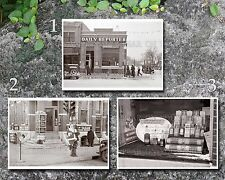 1936 Spencer IA Main Street photos, 3 5x7s or request one 8x10 or 8x12 or digita