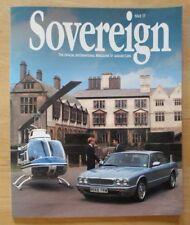 JAGUAR SOVEREIGN orig 1996 International Magazine Brochure - Edition 17