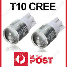 2 x T10 5W CREE LED W5W T15 WHITE Wedge Light Bulb - Car HID Xenon