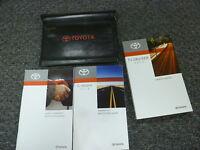2010 Toyota FJ Cruiser SUV Owner Owner's Manual User Guide Book 4WD 4.0L V6