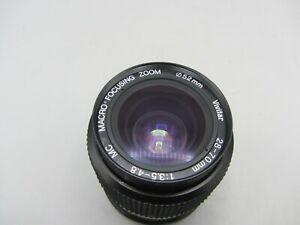 Vivitar 28-70mm F3.5-4.8 Zoom Minolta MD Mount Lens For SLR/Mirrorless Cameras