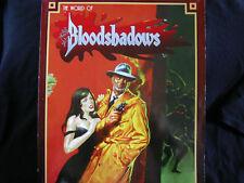 WORLD OF BLOODSHADOWS MASTERBOOK BOX SET WEST END GAMES D6 RPG OOP NOIR FANTASY