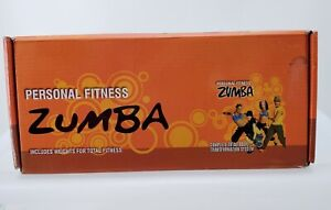 Zumba Fitness Hand Weights DVDS Weight Loss Body Transformation Exercise System
