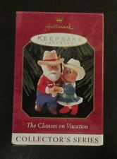 Hallmark - Keepsake Ornament - The Clauses On Vacation - 3rd In Series - NIB