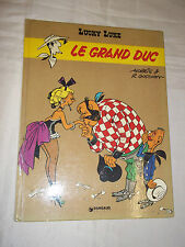 """LUCKY LUKE - LE GRAND DUC"" MORRIS & GOSCINNY (1973) EDITION ORIGINALE"
