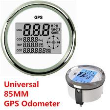 9-32V Waterproof GPS Digital Speedometer Odometer Gauge For Car Truck Marine