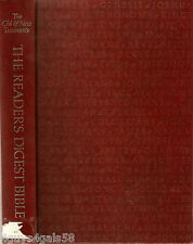 The Reader's Digest Bible : Condensed from Revised Standard Version Old & New