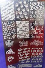 Designer nail art stamping plate (347)