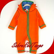 NWT HANNA ANDERSSON SNUGGLE UP NORDIC FLEECE BABY BUNTING LION 60 3-6 M