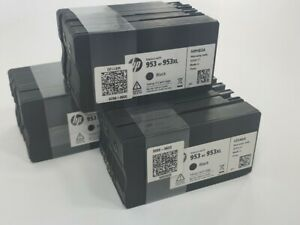 953XL Vs 12PK Genuine HP 953 SETUP ink cartridge FOR officejet Pro 8210 8710 ...