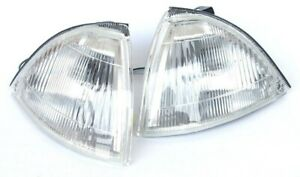 For Suzuki Swift 1989-1995 Front white signal indicator lights lamp assembly set