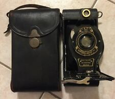 Antique Eastman Kodak No.A-130 Folding Autographic Brownie With Leather Case