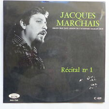 JACQUES MARCHAIS Récital N°1  BAM  C 419