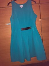 Lipsy Teal Dress Size 16 worn Once