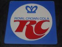 "Vintage 8"" RC Royal Crown Cola Sign Replica 1906 3D Printed  Advertising Soda"
