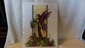 """The Wine Queen by Amy Brown, 8.5"""" x 11"""" Lithograph Ready to Frame OOP"""