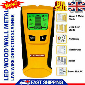 3 IN 1 WALL STUD FINDER METAL AC LIVE WIRE DETECTOR WOOD COPPER CABLE SCANNER