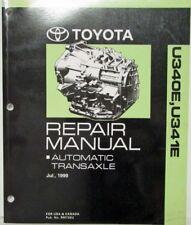 1999 Toyota Auto Transaxle Service Repair Manual U340E U341E Yaris Echo Celica