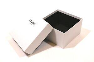 """SCATOLA CONFEZIONE LUSSO - GIFT BOX """"CELINE"""" PARIS 2021 ORIGINALE (21x21x13)"""