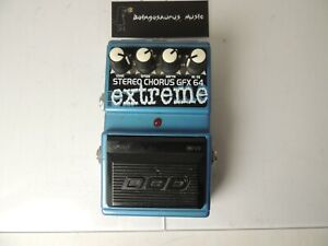 DOD GFX64 EXTREME Stereo Chorus  Effects Pedal Free USA Shipping