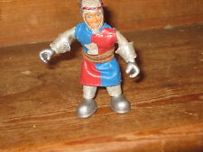 ODYSSEY TOY WOODEN WILLIAM  KNIGHT ARMOUR  PLAYFIGURE CASTLE  BATTLES  POSEABLE