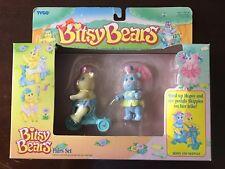 Tyco Bitsy Bears Hopsy And Skipples NIP Sealed Set 1991