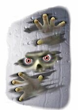Foggy Fiend Halloween Zombie Glass Grabber Party Mirror Window Decoration Decal
