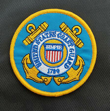 United States Coast Guard 1790 U.S. Army Usa 3D Embrodiered Hook Loop Patch #01