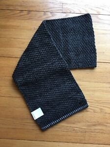 Calvin Klein Thermal/Wafflle Knit Scarf