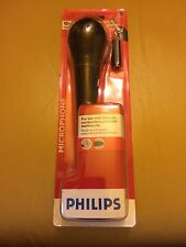 SEALED Phillips Universal Wired Uni-Directional Microphone PH62080 Karaoke