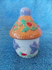 New Vintage Christmas Birdhouse With Birds Salt & Pepper Shaker
