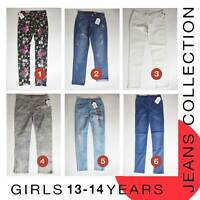 Girls Jeans 13-14 Years Brand New MORE THAN 70% OFF (L80)