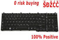 For Toshiba Satellite L675 L750 L755 L770 Keyboard Slovenian Croatian Serbian YU
