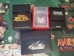 Konami Yu-Gi-Oh Rare Deck Box bundle! Very rare old deck boxes!