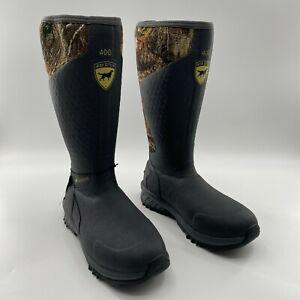 Irish Setter Mens MudTrek Waterproof 400G Insulated Rubber Hunting Boots Size 12