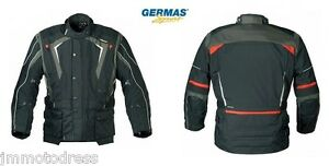GERMAS ADVENTURE schwarz grau rot Gr. XXL , UVP199,90  Touren Motorrad Jacke