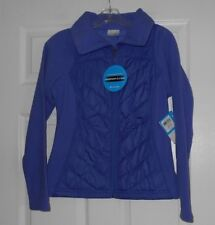 """Columbia """"Mix it Around"""" full zip water reistant quilted jacket size XS NWT"""